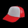 Trucker Cap | Schnell ab 25 Stück | 202130S Rot/Weiß