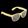 Matte Sonnenbrille   Budget   83791927 gelb