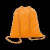 Baumwoll Rucksäcke | 100 g/m2 | Farbig | 8798484 orange