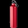 Trinkflasche mit Karabiner | 0,77 l | 92100297 rot