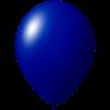 Reklameluftballon | 33 cm | 9485951 dunkel blau