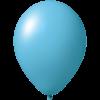 Reklameluftballon | 33 cm | 9485951 hellblau