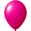 Reklameluftballon | 33 cm | 9485951 magenta