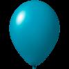 Reklameluftballon | 33 cm | 9485951 türkis