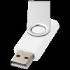 Rotate USB stick bedrucken 2GB schnel | DEmaxs038 weiß