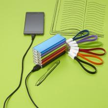 Powerbank 'Colorline' aus Aluminium