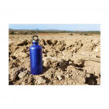 Trinkflasche mit Karabiner | 400 ml | Gravur | max111