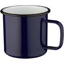 Emaille Tasse | 475 ml | hochwertig | 92100510 Blau