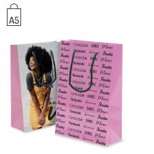 Laminierte Tasche Kira - A5 | DIN A5 | Glossy | Vollfarbe