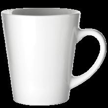 Tasse Joy | Vollfarbe | 350 ml | Konisch | 113FCConisch Weiß