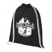 Rucksack aus Baumwolle   Aufdruck bis zu 4 Farben   140 gr/m2