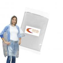 Full Colour Poncho | Transparent | Im Plastiksack