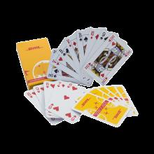 Spielkarten mit Schachtel   Aufdruck Kartenrückseite & Schachtel   127playingcard Weiß