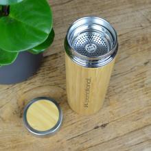 Trinkflasche   Bambus & Edelstahl   500 ml   156156