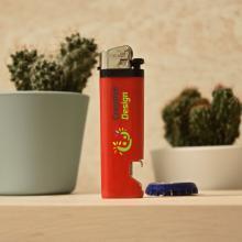 Unilite Feuerzeug Flaschenöffner | Feuerstein | Vollfarbe | Schnell | Max041