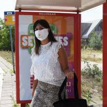 Gesichtsmaske | Polyamid | 2-lagig |  Made in EU | Schnell | max151