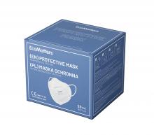 FFP2 Einweg-Gesichtsmaske | 5-lagig | Unbedruckt | max172