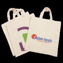 Organic Cotton Bag   140 g/m2   Beige