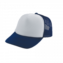 Trucker Cap | Schnell ab 25 Stück | 202130S Marineblau/ Weiß