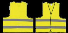 Warnwesten | EN471 | | M, XL | 204710 Gelb fluoreszierend