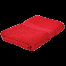 Badetuch | 140x70 cm | 450 g | Stick | 209100 Rot