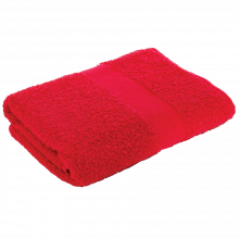 Badetuch | 140x70 cm | 360 g | Stick | 209300 Rot