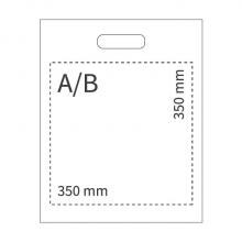 Plastiktüte | 50 x 40 cm | 108PS04 Weiß