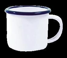 Emaille Tasse Boby   120 ml   Espresso   285349 Weiß