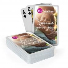 Spielkarten ohne Box   Aufdruck Kartenrückseite