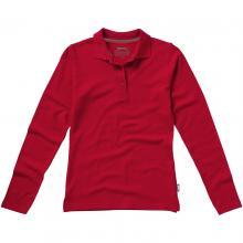 Slazenger Polo   Langarm   Damen   9233107 Rot