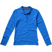 Slazenger Polo   Langarm   Damen   9233107 Blau