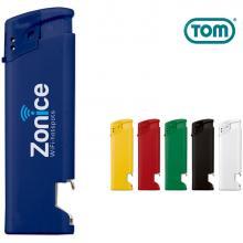 TOM Feuerzeug - Flaschenöffner | Elektronisch | Nachfüllbar