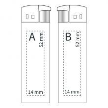 Feuerzeug   Elektronisch   Vollfarbe   72420620FCVCM