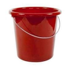Eimer mit Logo   10 Liter   72840026 Rot