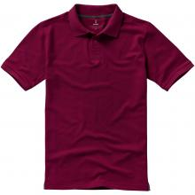 Calgary Polo | Hochwertig | Herren | 9238080 Bordeauxrot