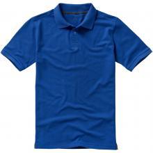 Calgary Polo | Hochwertig | Herren | 9238080 Blau