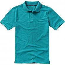 Calgary Polo | Hochwertig | Herren | 9238080 Aqua Blau