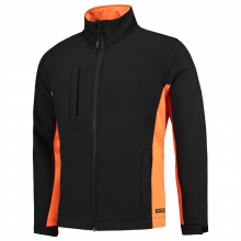 Softshell Jacke Bi-ColorTJ2000 | 97TJ2000 schwarz/orange