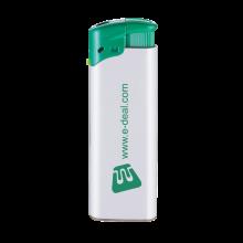 Feuerzeuge   Elektronisch   Nachfüllbar   72420435 Weiß/Grün