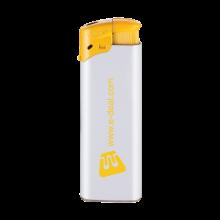 Feuerzeuge   Elektronisch   Nachfüllbar   72420435 Weiß/Gelb