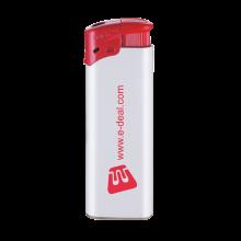 Feuerzeuge   Elektronisch   Nachfüllbar   72420435 Weiß/Rot
