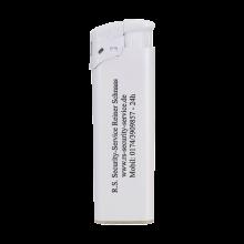 Feuerzeuge   Elektronisch   Nachfüllbar   72420435 Weiß