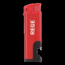Feuerzeuge | Elektronisch | Flaschenöffner | 72420632 Rot