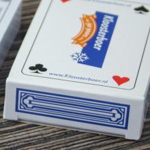 Spielkarten mit Schachtel   Aufdruck Kartenrückseite & Schachtel   127playingcard