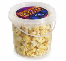Popcorn im Eimer | Full-Colour Sticker | 1 Liter