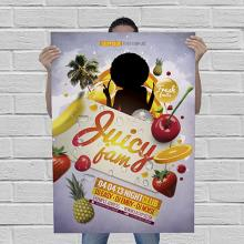 Poster Kundenstopper | 59,4x8,4 cm