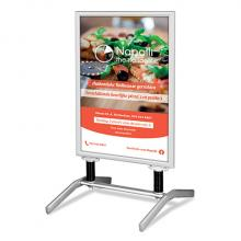 Kundenstopper | Schwingfuß | 84x118,9 cm