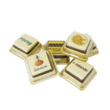 Logoschokolade in Box