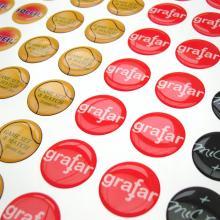 Doming Sticker   19 cm2