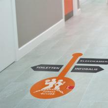 Boden-Aufkleber | Indoor | 10x10 cm
